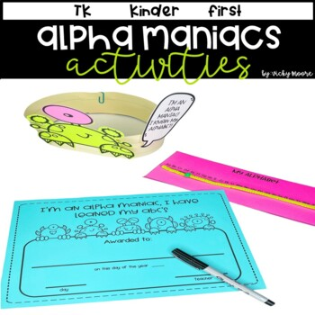 Alpha - Maniacs { alphabet unit/pack }