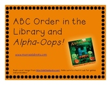 Alpha Oops! H is for Halloween