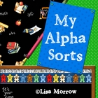 AlphaSorts Complete Alphabet Beginning Sound Sorts