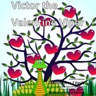 Alphabet A to Z Rhyming Easily  Victor the Valentine Viper