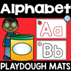 Alphabet {ABC} Playdough Mats