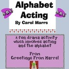 Drama Game-Alphabet Acting