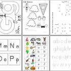 Alphabet Activities - 86 pages!
