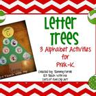 Alphabet Activities: Letter Trees