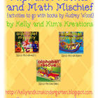 Alphabet Antics and Math Mischief {activities to go with b