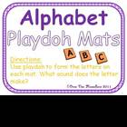 Alphabet &amp; Beginning Sounds Playdoh Mats