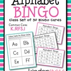 Alphabet Bingo Common Core Game