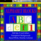 Alphabet Blocks Clip Art