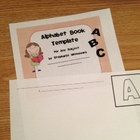 Alphabet Book Template for Any Subject