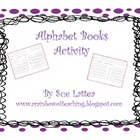 Alphabet Books Activity
