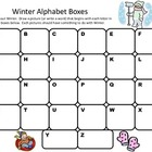 Alphabet Boxes January-June