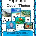 Alphabet Bulletin Board ~ OCEAN theme