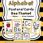 Alphabet Cards (Bee Themed)