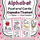 Alphabet Posters (Cupcakes Themed)