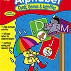 Alphabet Cards, Games and Activities Full Color *Brand New*