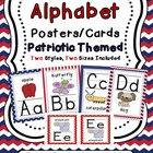 Alphabet Posters (Patriotic Themed)