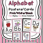 Alphabet Posters (Pirate Themed - pink)