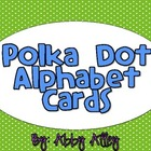 Alphabet Cards (Polka Dot)