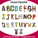 Alphabet Clip Art by Jeanette Baker