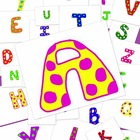 Alphabet Clipart {Polka Dot} - Commercial Use Okay