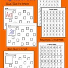 Alphabet Cut & Paste Worksheets