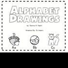Alphabet Drawings