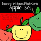 Alphabet Flash Cards: September Set