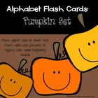 Alphabet Flash Cards: Halloween Set