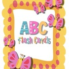 Alphabet Flash Cards- It's a Girl Thing!