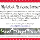Alphabet Flashcard Banner for Classroom Decoration