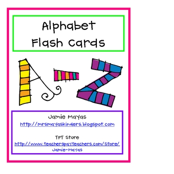 Alphabet Flashcards A-Z
