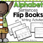 Alphabet Sentences Flip Books