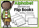 Alphabet & Sight Word Sentences Flip Books