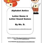 Alphabet Games with Alphabet  Letters B & P {PreK-1}