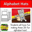 Alphabet Hats - Sentence Strip Hats