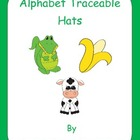 Alphabet Hats with Traceable Letters