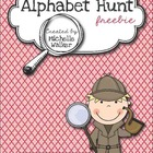Alphabet Hunt FREEBIE