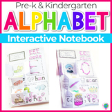 Alphabet Interactive Notebook for Letter Recognition and P