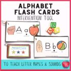 Alphabet Book to learn letter names & sounds! Great for su