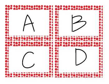Alphabet Kit - Dotty Patterns