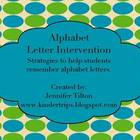 Alphabet Letter Intervention