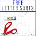 Alphabet Letter Sort FREEBIE