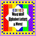 Alphabet Letters, ABC Book , Alpha Maps & matching Desk Tags