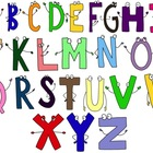 Alphabet Letters Character Clip Art -- For Personal or Com