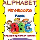 Alphabet Mini-Books Pack for Kinders and First Graders (Di