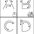 Alphabet Mini Books for Tracking Letters Freebie