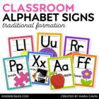 Alphabet Picture Cards {White Series}