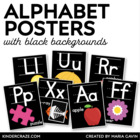 Alphabet Picture Cards {Black Series}