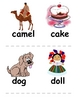 Alphabet Picture Flashcards