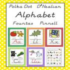 Alphabet Poster, Card & Letter Sound Pack (D'Nealian/Fount